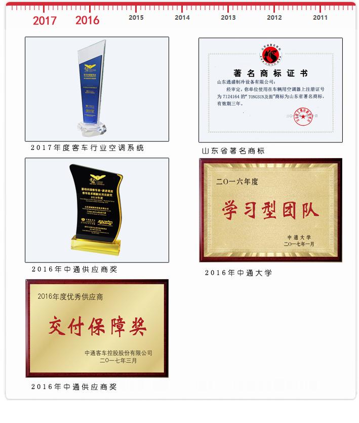 2017-2016企业荣誉